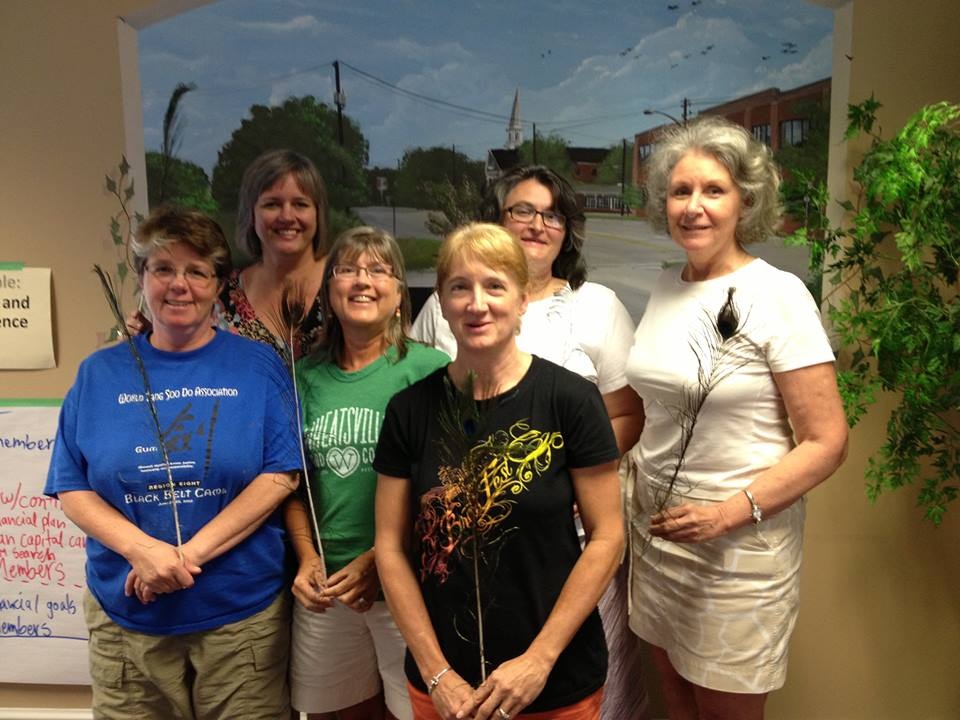 Elizabeth Francis, Tiffany Wagner, Joy Brown, Mary Christofferson, Tammie Quick, Vicki Volk. 2012
